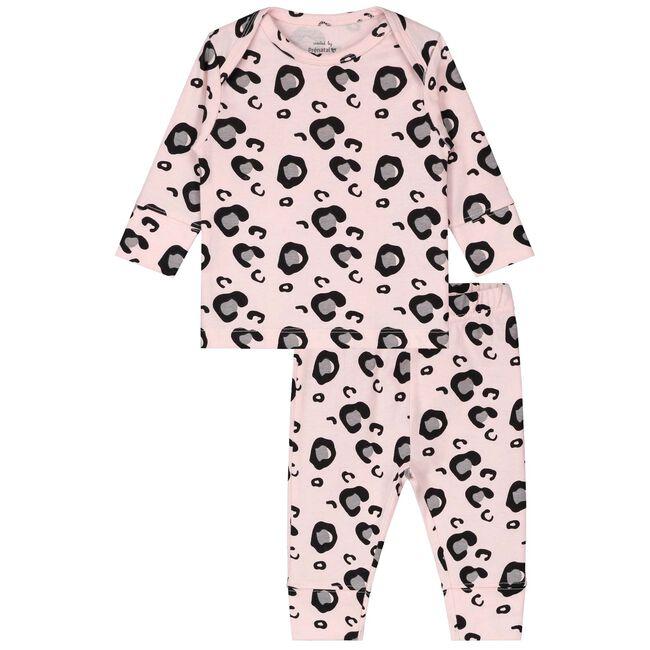 Prénatal baby meisjes pyjama - Skin Piink