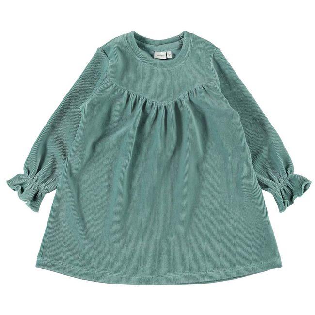 Name it peuter meisjes jurk - Mintgreen