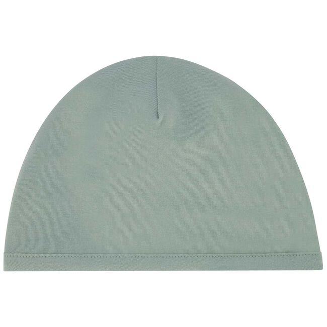 Prenatal newborn unisex mutsje - Dark Mint Green