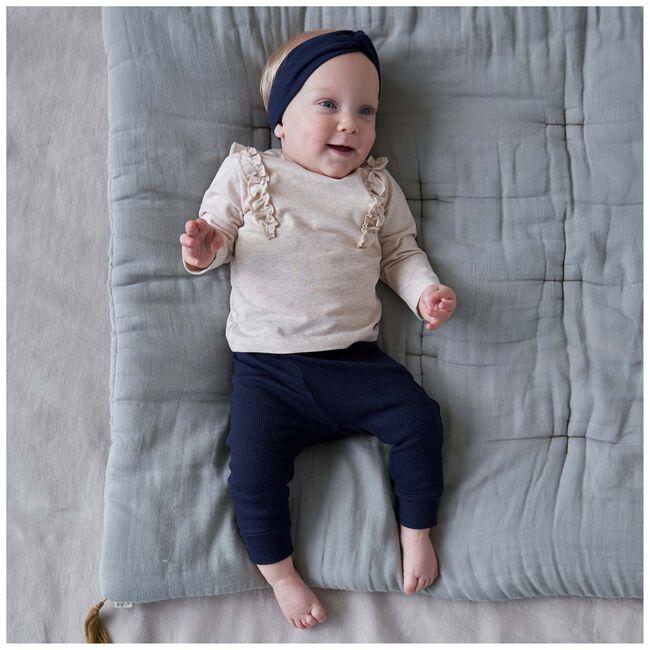 Prénatal baby shirt - Light Brown Melange