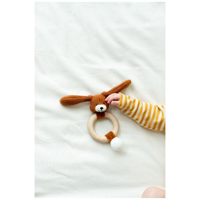 Prénatal rammelaar konijn little knits -