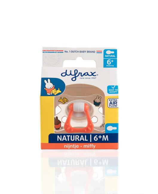 Difrax fopspeen natural Nijntje 6+ maanden - Geen Kleurcode