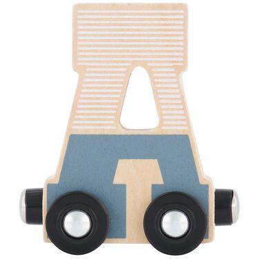 Prénatal houten namentrein letter A -