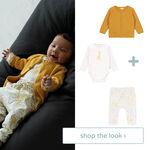 Shop the look - vest, romper en broek -