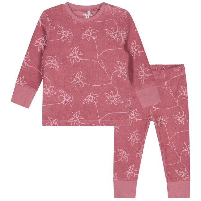 Prénatal peuter pyjama meisjes - Rosered
