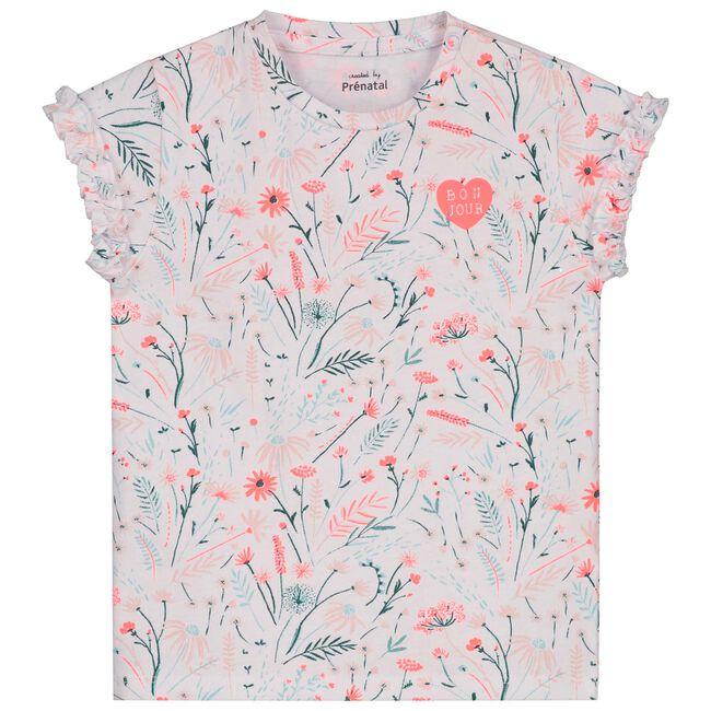Prenatal peuter meisjes T-shirt - White