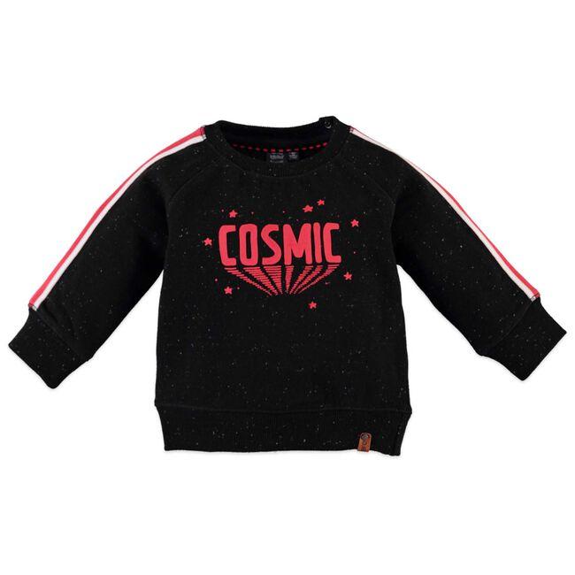 Babyface peuter jongens sweater - Black
