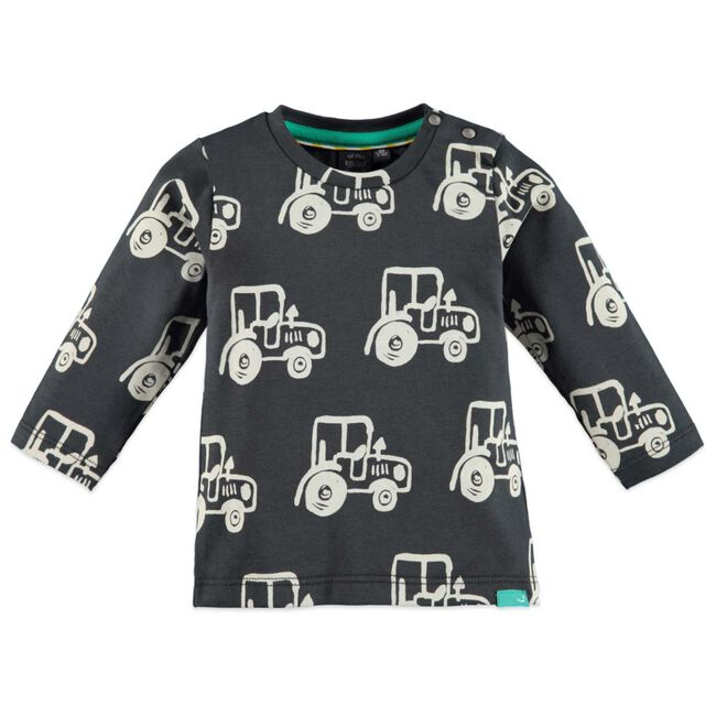 Babyface jongens t-shirt - Darkgrey