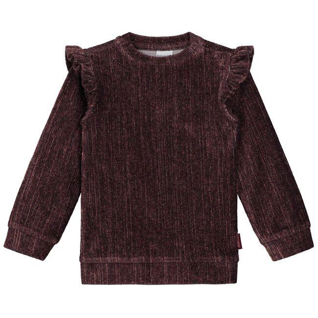 Prénatal baby meisjes sweater - Grape Purple