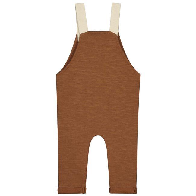 Prénatal baby jongens tuinbroek - Red Brown