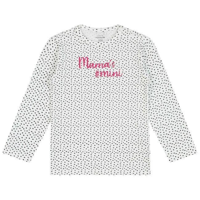 Prénatal peuter meisjes T-shirt - White