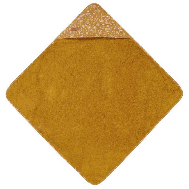 Little Dutch badcape - Light Yellow Brown