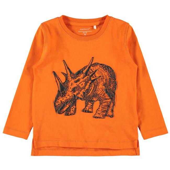 Name it peuter jongens t-shirt - Midorange