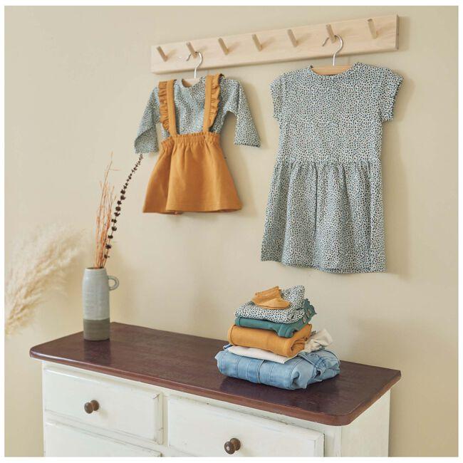 Prénatal baby meisjes jurk - Ecru