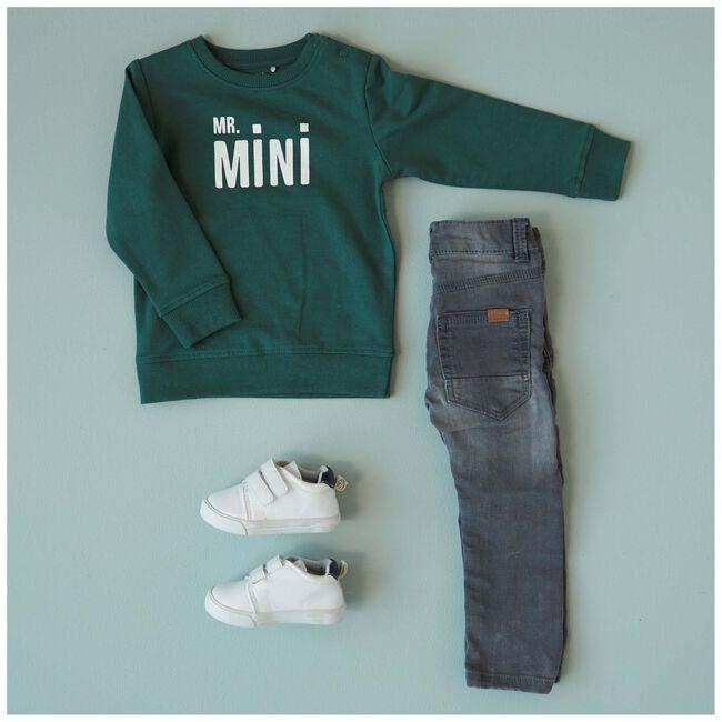 Prénatal peuter jongens sweater - Seagreen