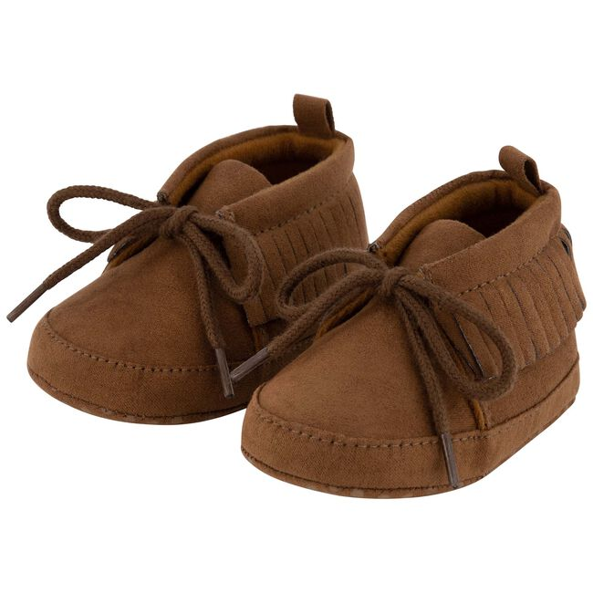 Prénatal meisjes softsole schoenen - Darkbrown