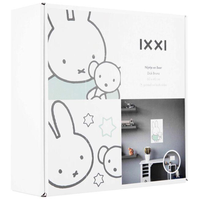 IXXI Nijntje en beer dubbelzijdig - Multi