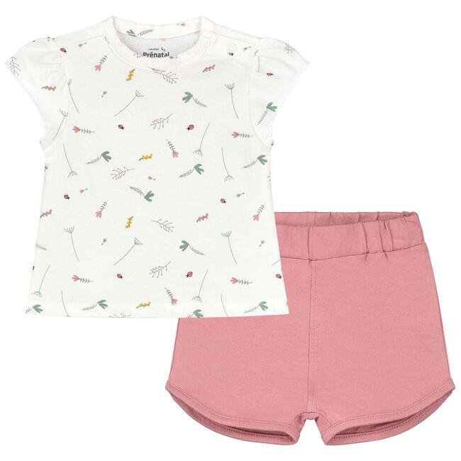 Prénatal baby meisjes pyjama - White