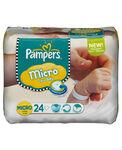 Pampers New Baby Micro luiers 1-3.5 kg - Onbekend