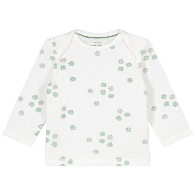 Prénatal newborn jongens shirt - Ivoor Wit