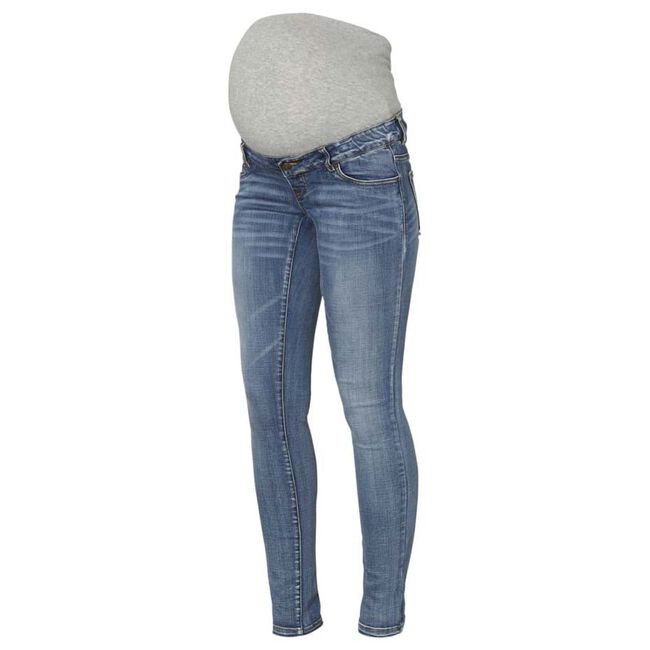Mamalicious zwangerschapsjeans - Light Blue Denim