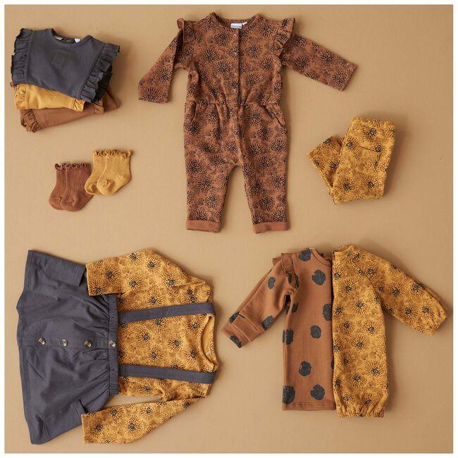 Prénatal baby meisjes Jurk - Brown Shade