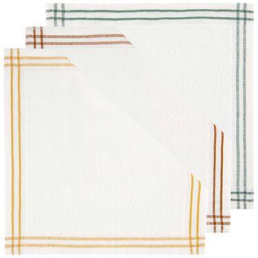 Prénatal monddoekjes badstof met streep 3 stuks -