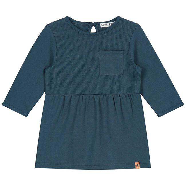 Sweet Petit baby meisjes jurk - Night Blue