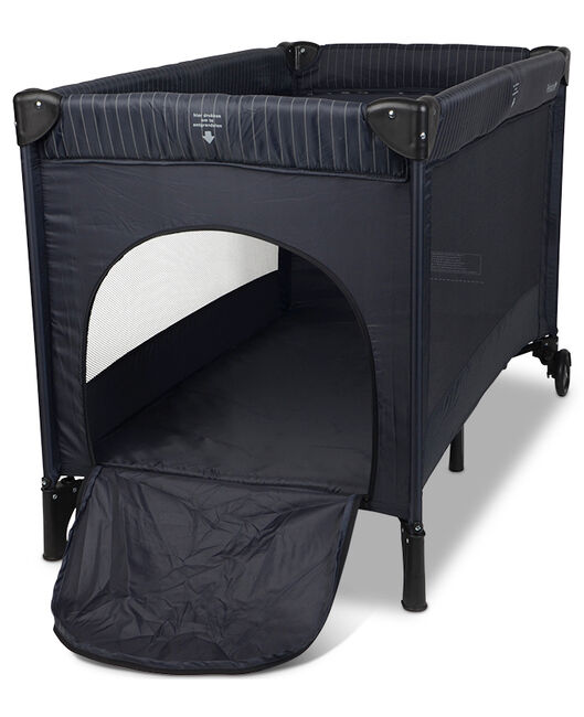 Campingbedje Prenatal Opzetten.Prenatal Campingbed Stripes