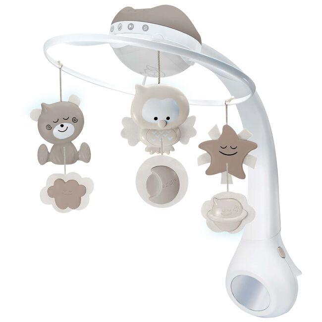 Infantino 3-in-1 muziekmobiel en projector - Beigebrown