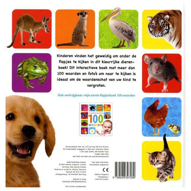 Mijn eerste flapjesboek 100 dieren -