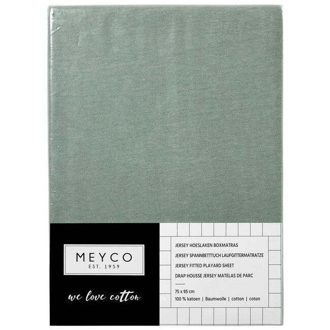 Meyco boxmatrashoes jersey 75x95cm - Green