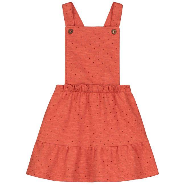 Prénatal baby meisjes jurk - Brown Red