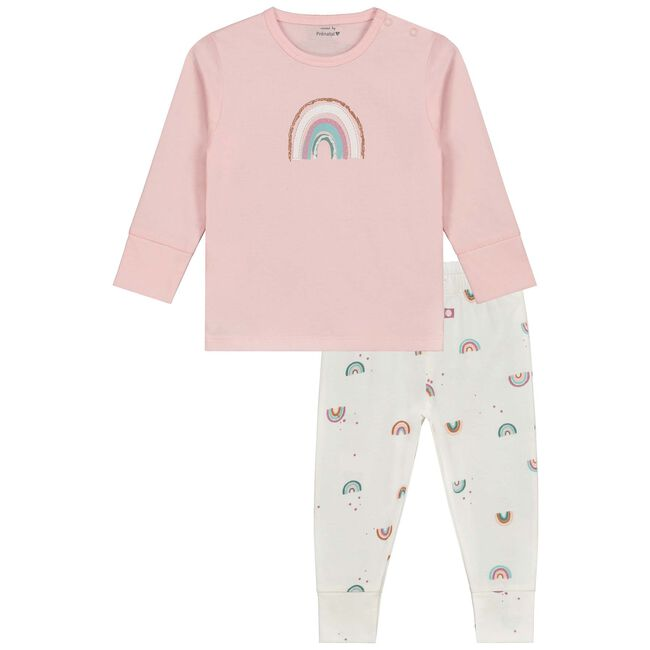 Prénatal peuter meisjes pyjama - White