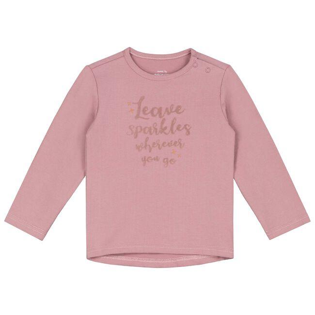 Prenatal peuter meisjes T-shirt - Light Purpleshade
