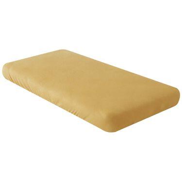Prénatal wieg hoeslaken - Light Yellow Brown