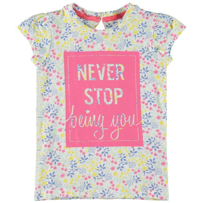 Name it peuter meisjes T-shirt - Off-White
