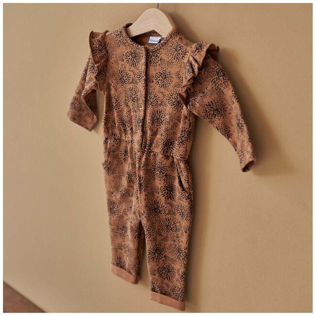Prénatal peuter meisjes jumpsuit - Brown Shade