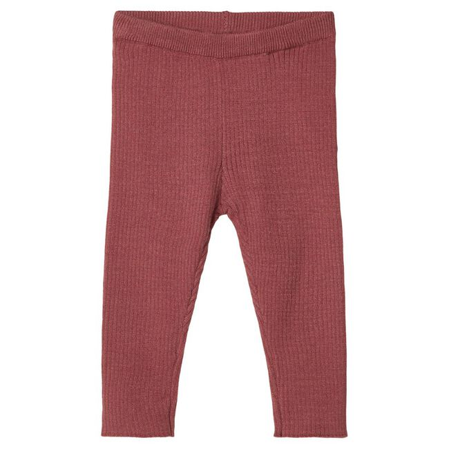 Lil'Atelier meisjes legging - Red Brown
