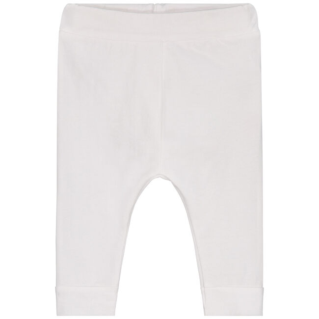Prénatal newborn unisex broekje - White