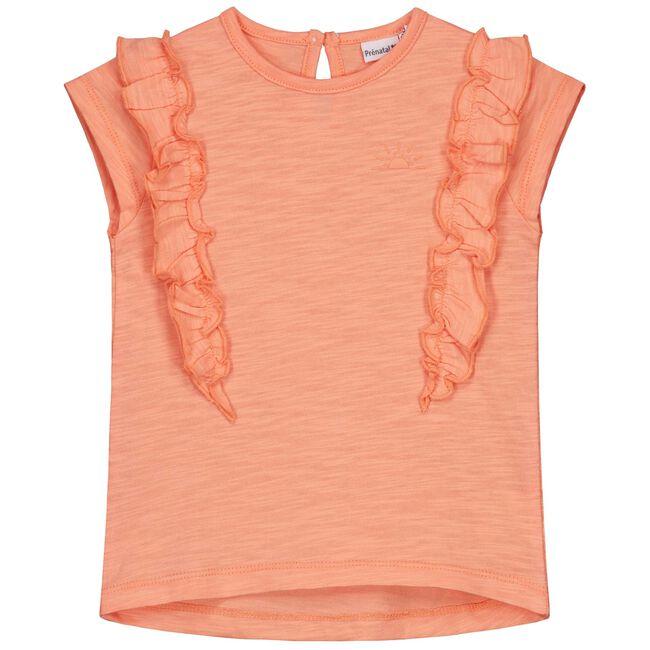 Prenatal peuter meisjes T-shirt - Dark Salmon