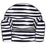 Prénatal fauteuil zebra - White