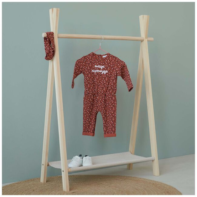 Prénatal baby meisjes jumpsuit - Dark Coral Red