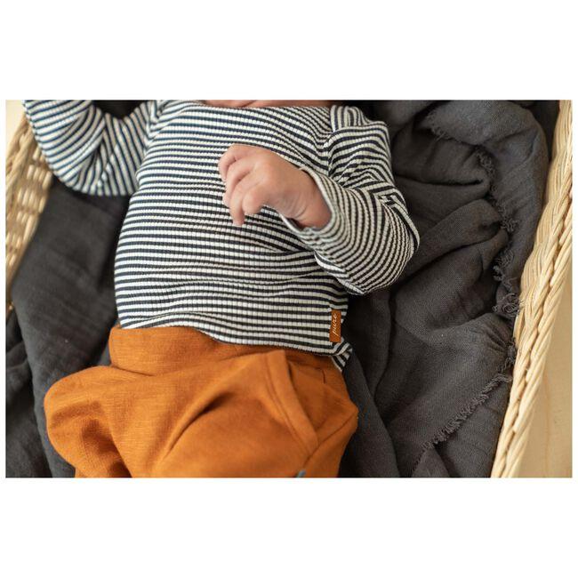 Prénatal baby unisex shirtje Pure - Deep Grey Melange