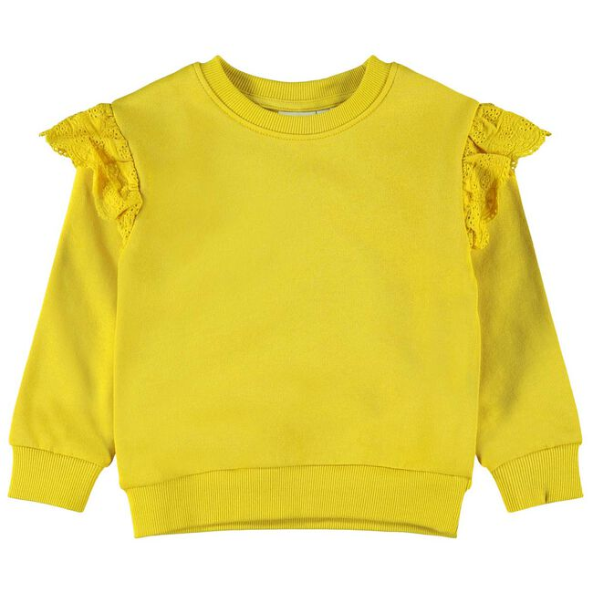 Name it peuter meisjes sweater - Midyellow