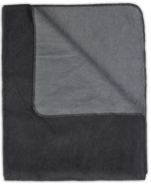 Prénatal ledikantdeken grijs - Darkgrey