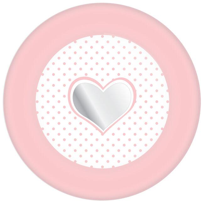 Haza bordjes babygirl 18 cm - Pink