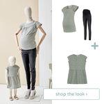 Shop the look - Twinning print T-shirt en jurk -
