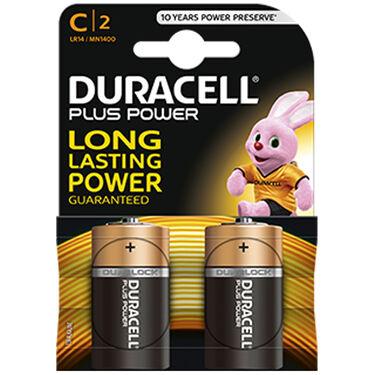 Duracell batterijen C 2-pack Alkaline -