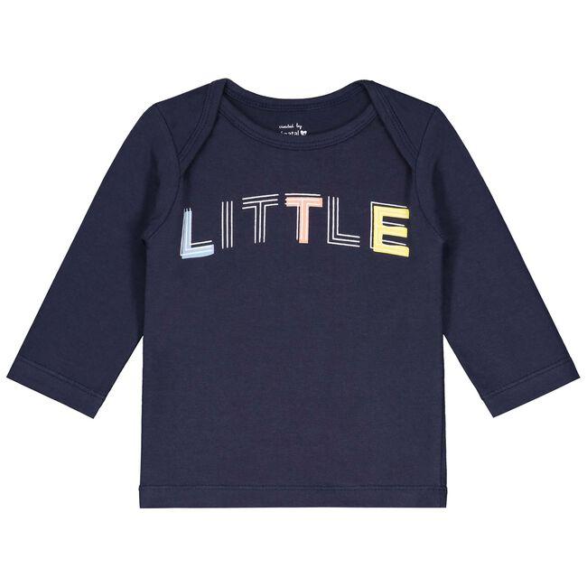Prenatal newborn jongens shirt Little - Dark Blue